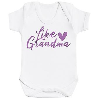 Como a avó, como a grandaughter - jogo de harmonização - Bodysuit do bebê & Mum T-Shirt