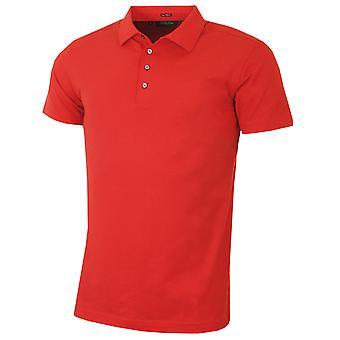 Bobby Jones Mens Liquid Cotton Stretch Solid TF Golf Polo Shirt