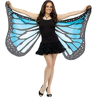 Wings Soft Butterfly Adlt Blue