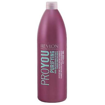 Revlon Proyou Purifying Shampoo Detoxifying and Balancing 1000 ml