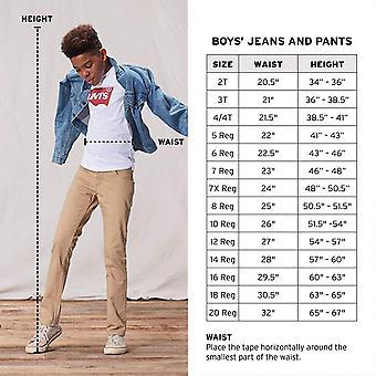 Levi's Boys' 505 Regular Fit Jeans, Roadie, 20, Roadie, Größe 20