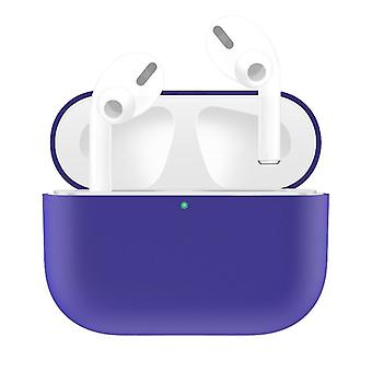 For AirPods Pro Case, Silicone Protective Earphone Cover, Dust-proof, Dirt-resistant, Purple