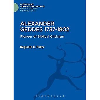 Alexander Geddes 1737-1802 (Bloomsbury Academic Collections: bijbelse studies)