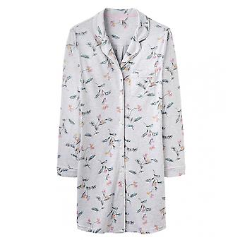 Joules Joules Verity Womens Printed Nightshirt S/S 19