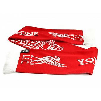 Liverpool FC Official Football Crown Scarf