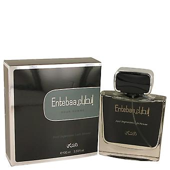 Entebaa eau de parfum spray by rasasi   538126 98 ml