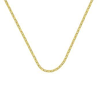 14k זהב צהוב 3mm כבל מארינר לובסטר טופר הסגר תכשיטים מתנות לנשים-אורך: 18 כדי 30