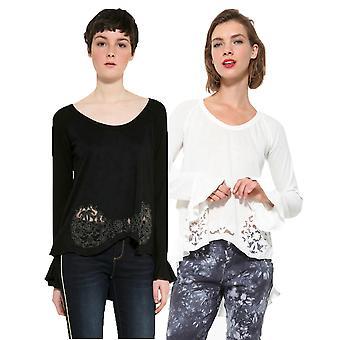 Desigual Women's Nelia Long Sleeved T-Shirt Top