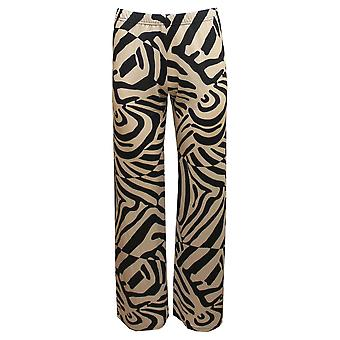MARBLE Marble Black Trousers 5776