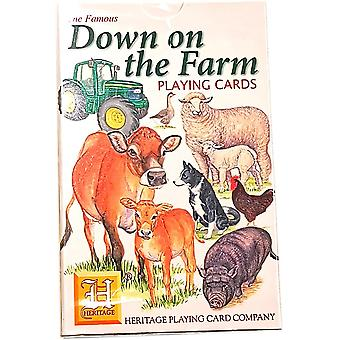 Down on the Farm by Heritage Playing Cards