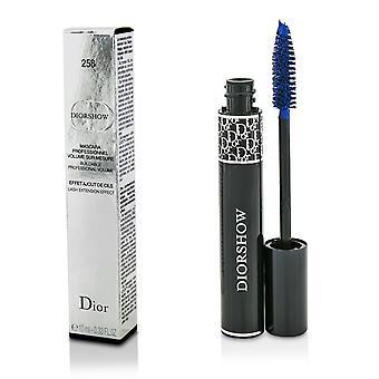 Diorshow építhető kötet szempilla kiterjesztése hatás szempillaspirál # 258 pro kék 191303 10ml/0.33oz