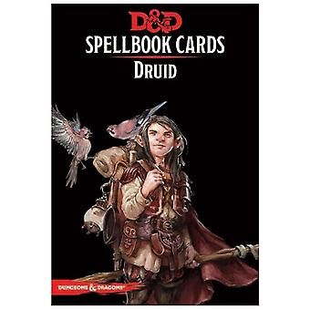 Dungeons and Dragons Druid Spell Deck Revised Board Game