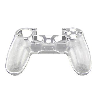 Protective case for ps4 sony controller hard bumper shell - clear | zedlabz