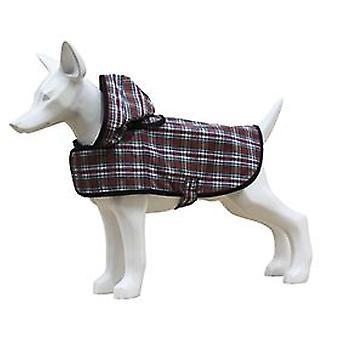 Freedog Checkered raincoat for your pet (Dogs , Dog Clothes , Raincoats)