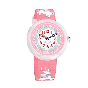 Flik Flak Watches Fbnp121 Magical Dream Pink Unicorn Textile Watch