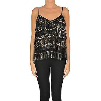Aniye By Ezgl252019 Women's Black Polyester Top