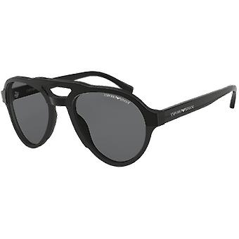 Emporio Armani EA4128 Black Polarized Grey