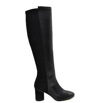 Stuart Weitzman Ezbc158022 Dames's Black Leather Boots