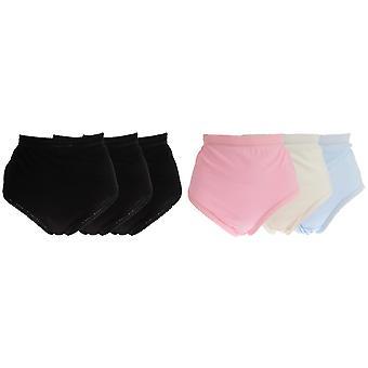 La dikt underkläder dam/dam bomull Full underbyxor (förpackning med 3)