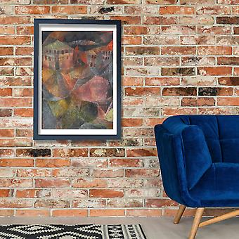 Paul Klee - Das Hotel Poster Print Giclee