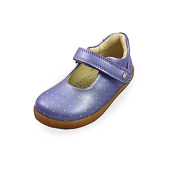 Bobux i-walk delight mary jane grape  comet shoes