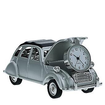 TM CITROEN 2CV FRENCH VINTAGE CAR  Miniature Novelty Collectors Desk Clock TM25