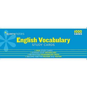 English Vocabulary SparkNotes Study Cards by SparkNotes