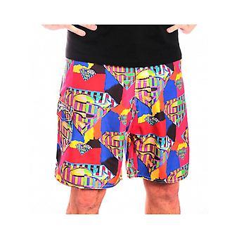 Superman - abstrakte Logo Männer Badeshorts - Multicolor
