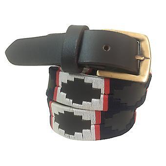 Carlos diaz barn unisex brunt läder polo bälte cdkpb36