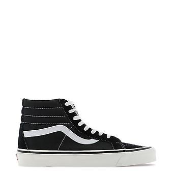 Vans Vn0a38gfpxc1 Men's White/black Suede Hi Top Sneakers