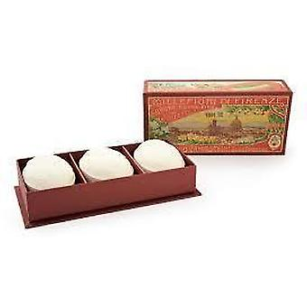 Campostrini Mille Fiori di Firenze Luxury Hand Made 3 Oval Soaps Gift Boxed