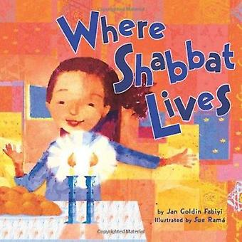Where Shabbat Lives by Jan Goldin Fabiyi - 9780822589464 Book