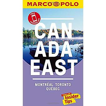 Canada East Marco Polo Pocket Travel Guide - with pull out map - Montr