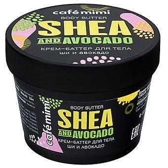 Cafe Mimi Shea Butter and Avocado Body Cream 110 ml