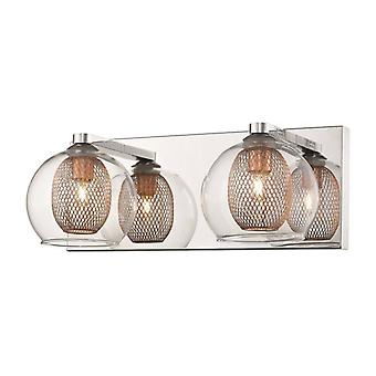 Liverpool Copper Wall Light 2 Luces