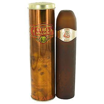 Cuba Magnum Red Eau De Toilette Spray By Fragluxe 4.3 oz Eau De Toilette Spray