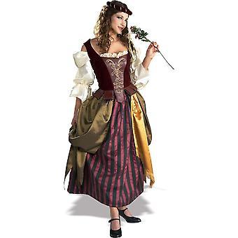 Lady Renaissance vuxen dräkt - 13476