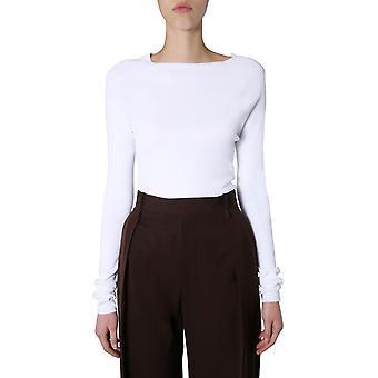 Bottega Veneta 600894vkjk08329 Kvinder's Hvid Viskose Sweater