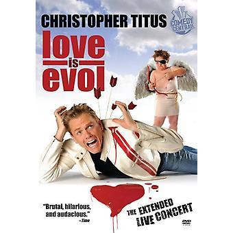 Love Is Evol [DVD] USA import