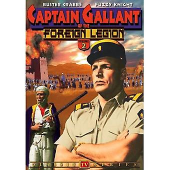 Captain Gallant of the Foreign Legion: Vol. 2 [DVD] USA import