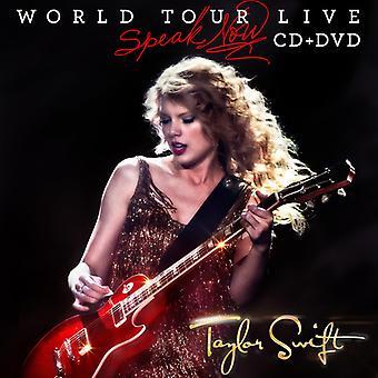 Taylor Swift - Speak Now World Tour Live (CD/DVD) [CD] USA import