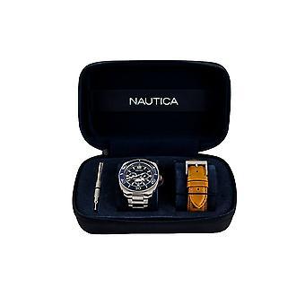 Reloj Náutica NAPBHS905 - Acero Inoxidable Gents Cuarzo Multifunción