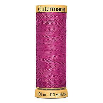 Gutermann 100% natural cotton thread 100m hand- en machinekleurcode - 2955