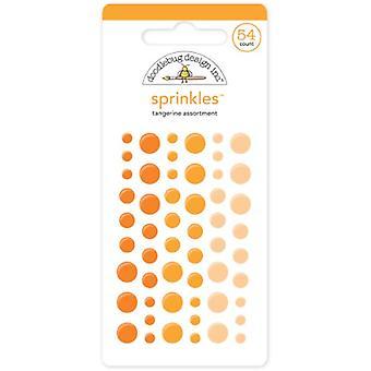 Doodlebug Design Tangerine Strössel (54st) (4007)