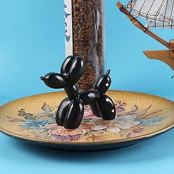 Cute Cake Decoration Resin Balloon Dog