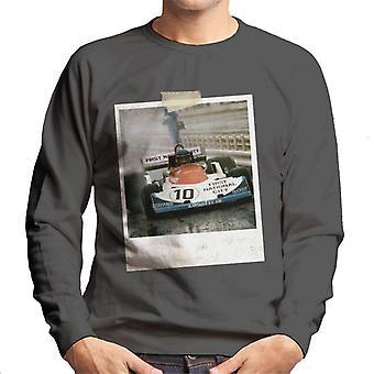 Motorsport Billeder Ronnie Peterson Ford 1976 Monza Men's Sweatshirt