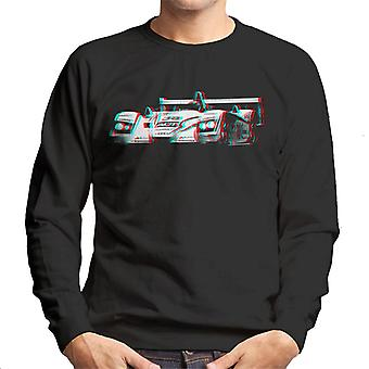 Motorsport Images JJ Lehto Champion 3D Effect Men's Sweatshirt