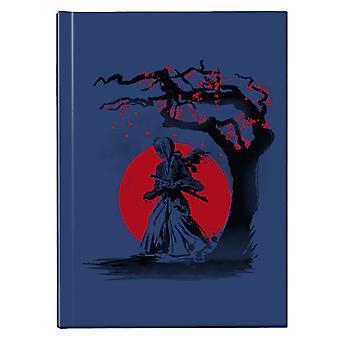 Rurouni Kenshin Wandering Samurai Hardback Journal