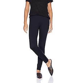 Brand - Daily Ritual Women's Ponte Knit Legging, Navy, X-Large Short