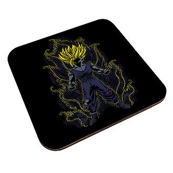 Post Impressionist Young Trunks Dragon Ball Super Coaster